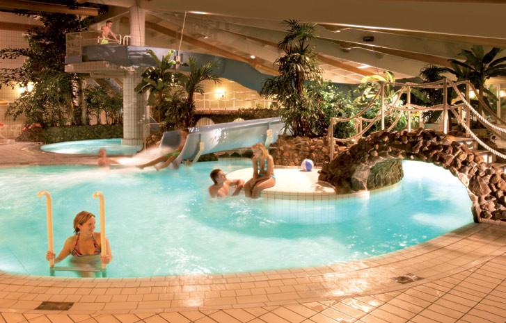 Subtropisch zwembad hotel havezate in de achterhoek